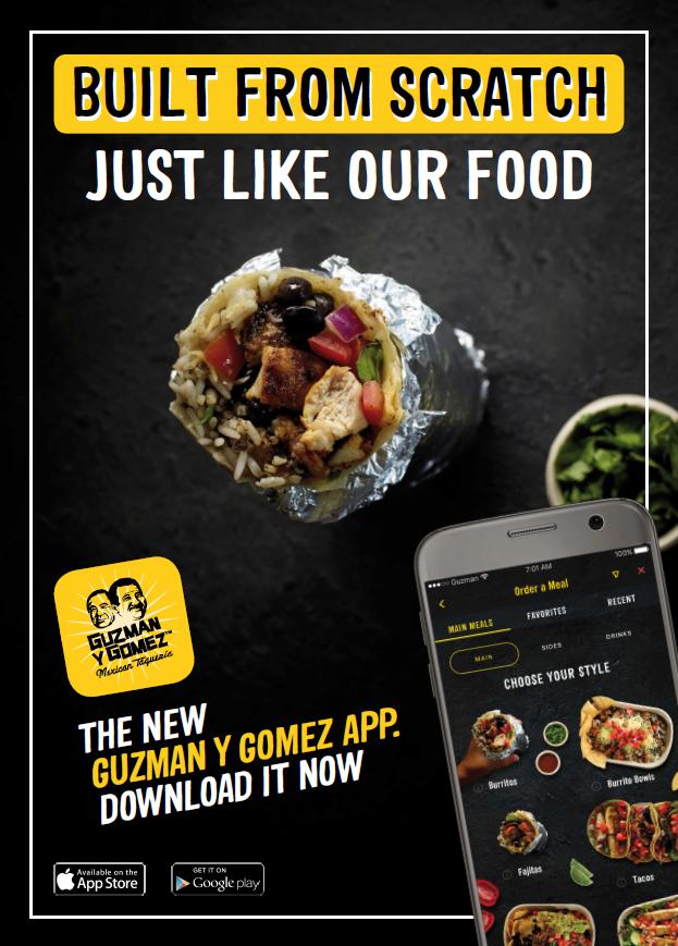 Guzman y Gomez New App – Guzman y Gomez MexicanTaqueria