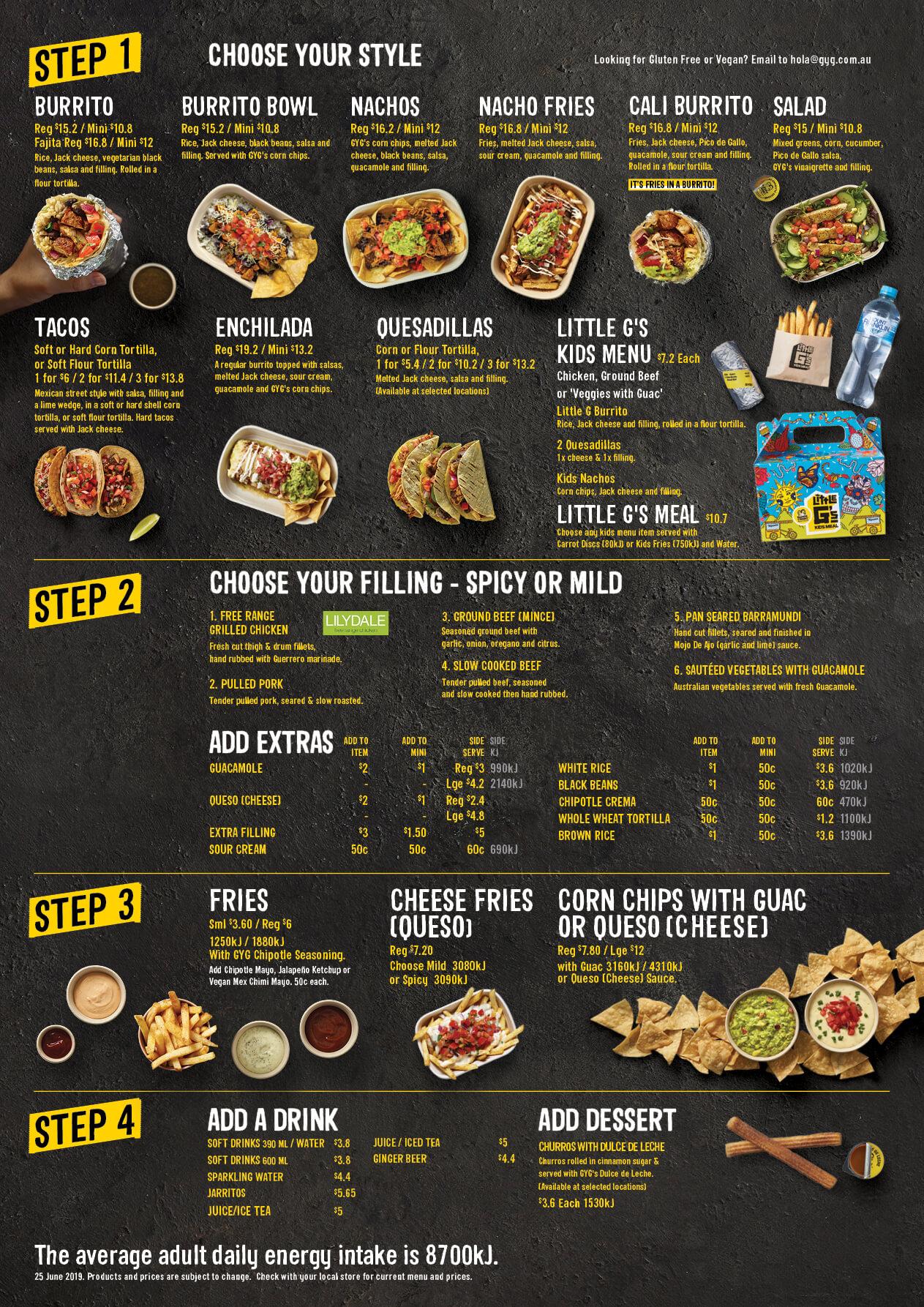 Mexican Food – Guzman y Gomez MexicanTaqueria